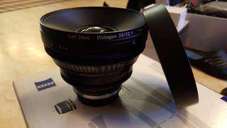 Zeiss Compact Prime Lens CP.2 35/T2 (high end)