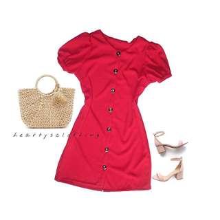 Maxine Buttoned Down Dress