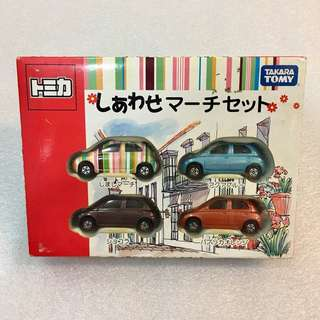 "Tomica 日產Nissan March ""Paul Smith""拉花別注限定套裝boxset #GOGOVAN50"