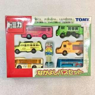 Tomica 幼稚園 觀光遊覽巴士 6車套裝 02年中制 #GOGOVAN50
