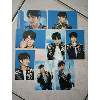 DUPLICATE PHOTOCARD BTS WINGS TOUR MINI PHOTOCARD