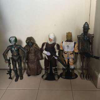 Star Wars 1/6 scale bounty hunter set