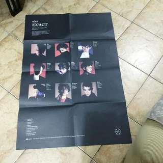 EXO Official E'XACT Monster Poster