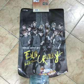 EXO OT12 'Crunky' Advertisement Poster