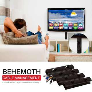 NeetGeek Behemoth Cable Organiser / Adhesive Wire Tray / Cable Hider