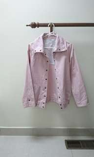 baby pink lightweight jacket Japan