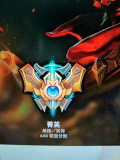 League Of Legend Challenger account.
