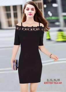 Korean Fitted Dress - COD