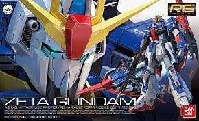 全新未砌 RG zeta 1/144 MSZ-006 Z Gundam