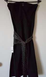 Portmans sleek black dress