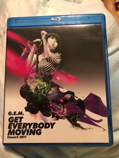 鄧紫棋 (G.E.M) - Get Everybody Moving Concert 2011 (Blu-ray) 藍光