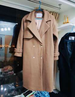 Made in Korea 羊絨外套 wool  coat