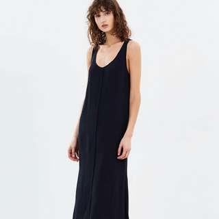 C&M Sienna Maxi Dress Size 12 French Navy