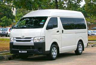 Toyota Hiace Turbo Diesel for Rent