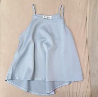 Pastel Blue Camisole Top