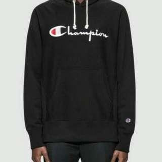 Hoodie Champion black original