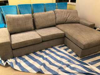 Ikea Kivik Large L Shape Sofa
