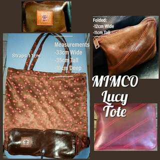 Mimco 'Lucy' Foldable Tote Bag
