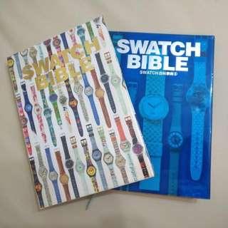 絕版經典天書--SWATCH BIBLE ( I )&( II )--共兩冊齊--又名SWATCH百科事典(I)&(II)