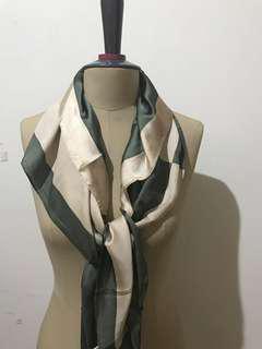 Heiden scarf green hijau