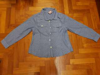 Cotton On Kids Long Sleeve Collared Shirt