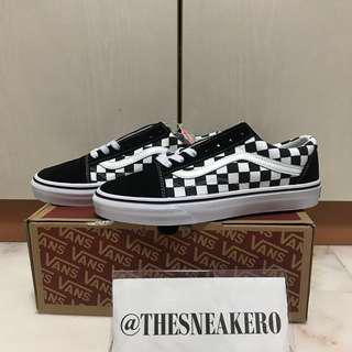 🚚 <INSTOCK> SIZE 40, 43 Checkered Vans Shoelace