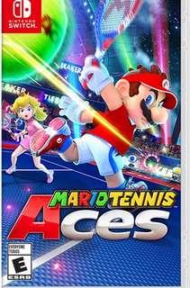 Nintendo Switch Mario Tennis Ace
