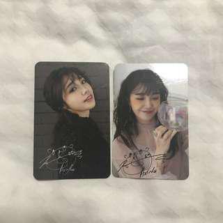 Jeong Eunji Official Photocard