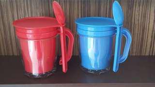 Tumbler insert paper/gelas plastik/gelas murah