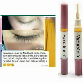 VARIABLE serum pemanjang bulu mata