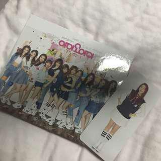 IOI 1st Mini Album Chrysalis