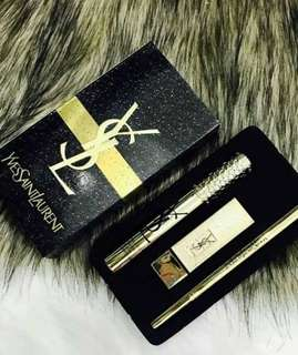 YSL set 3in1 gold