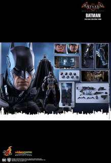Batman Arkham Knight hot toys VGM26 Brand new
