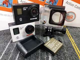 HK$588/1套 ~ 真正4K高清航拍相機錄影機,運動相機,車cam。New Action Camera Set