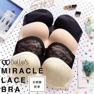 MIRACLE LACE BRA