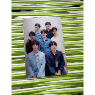 BTS TEAR ALBUM SPECIAL GROUP PHOTOCARD