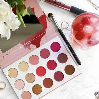 [CLOSED] Karity Rosé All Day Eyeshadow Palette Rose All Day AUTHENTIC