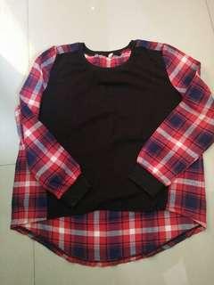 Sweater flanel