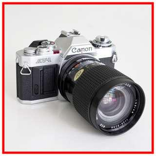 [Exc++] Canon AV-1 35mm Vintage Film Camera (Aperture-priority brother of AE-1) + 28-80mm zoom lens
