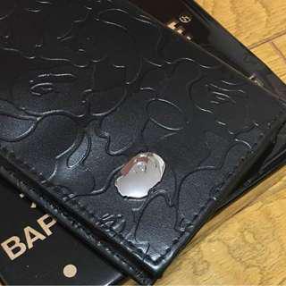READY STOCK Bathing ape bape long wallet