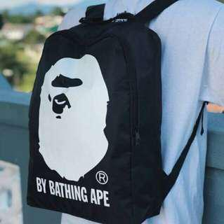 READY STOCK Bathing ape bape bagpack