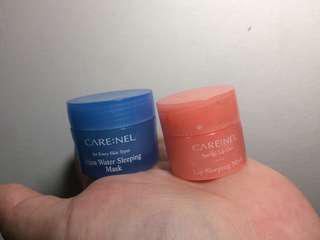 CareNel Lip mask and sleeping mask