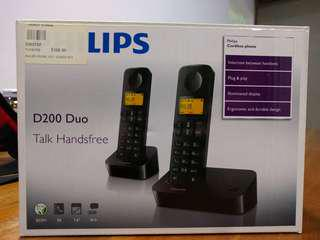 Philips D200 Duo Cordless Dect Phone