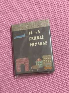 🚚 三折便條紙 法國