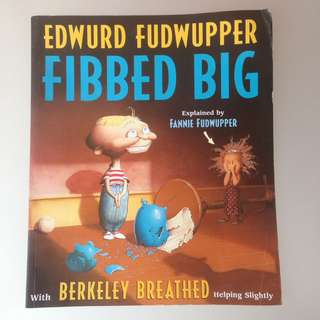 Buku Cerita Edwurd Fudwupper Fibbed Big