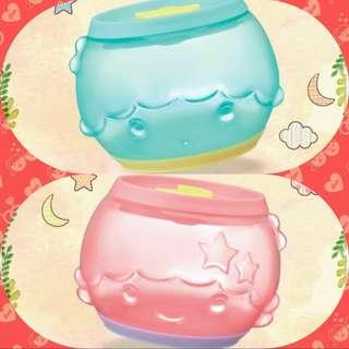 7-11圓咕 Lock 收納盒 ~ Little Twin Stars Kiki & Lala
