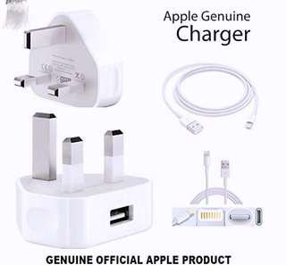 🚚 Authentic Apple Plug & Lighting Cable