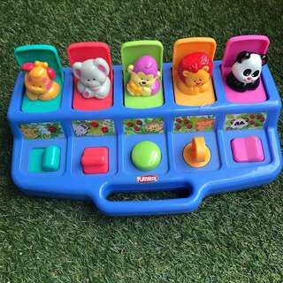 Playskool Pop-up Number Animals