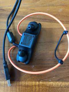 Sony 原廠NWZ-W273 無線防水隨身聽 耳機