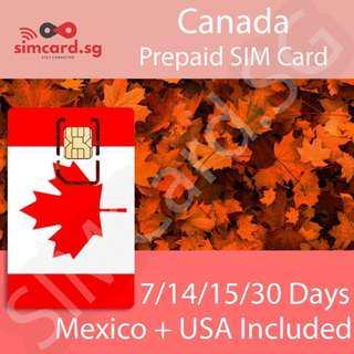 Canada Prepaid SIM Card